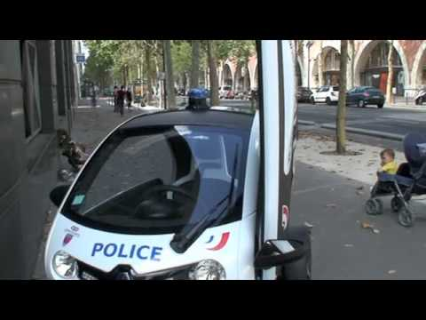 Voiturette électrique Commissariat Central Paris 75012
