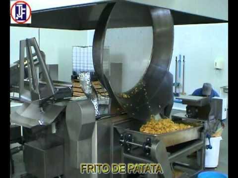 Fabricación y Envasado de patatas fritas artesanas TJF