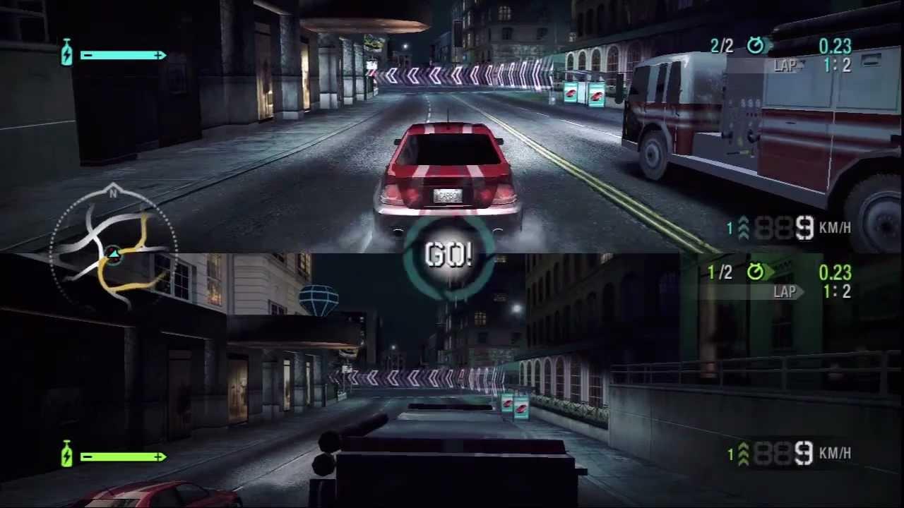 Carbon split screen race lexus is 300 vs fire truck youtube