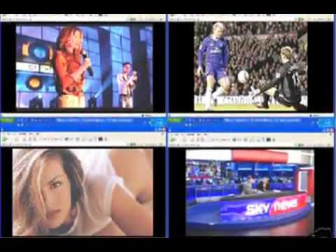 Satellite TV on your PC - TV tuner software - Watch TV on PC