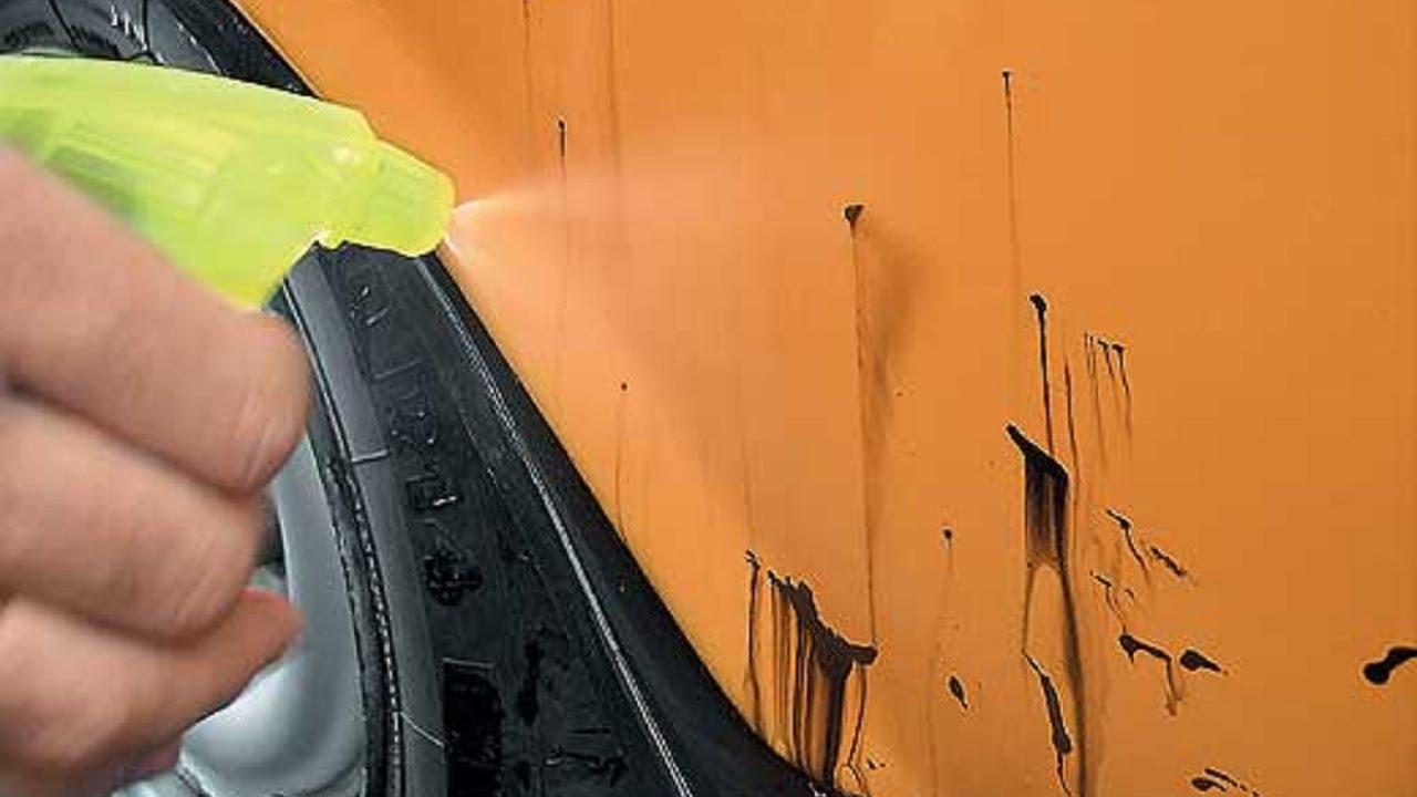 Чем отмыть битум с кузова автомобиля