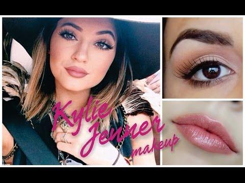 Kylie Jenner makeup tutorial ♥ PRINCIPIANTES ♥ Azumakeup