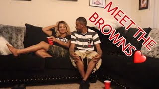 OUR FIRST VLOG: MEET THE BROWNS| OUR WEEKEND