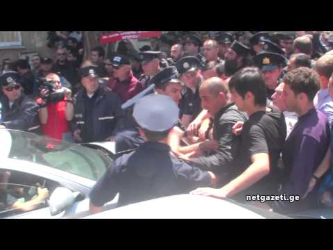 Extremist Orthodox vs LGBT right defenders in Tbilisi