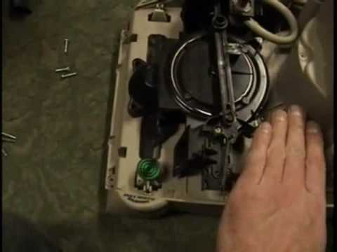 Repairing The Hoover Steam Vac Deluxe Youtube