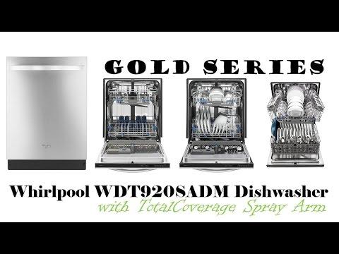 Whirlpool WDT920SADM Gold Series Dishwasher | Whirlpool Gold Dishwasher
