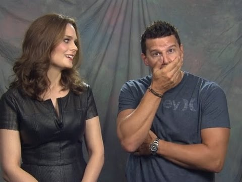 David Boreanaz & Emily Deschanel Interview