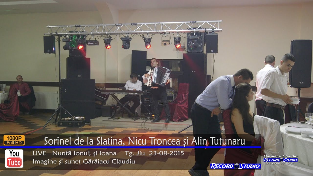 ♫ Sorinel de la Slatina si Nicu Troncea - ASCULTARI LIVE Nunta Ionut & Ioana 23-08-2015