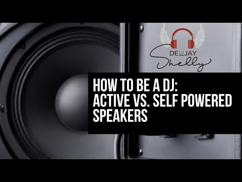 Active Self Powered Speakers: Why they are the best option for the mobile DJ.