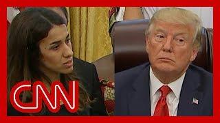 See Trump's reaction when survivor tells horrific story