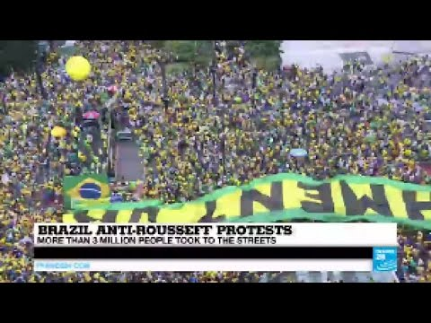 Brazil anti-Rousseff protests: More than 3 million took to the streets