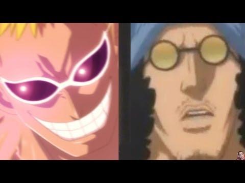One Piece 699 Manga Chapter Review -- Aokiji Vs Doflamingo Postponed ワンピース