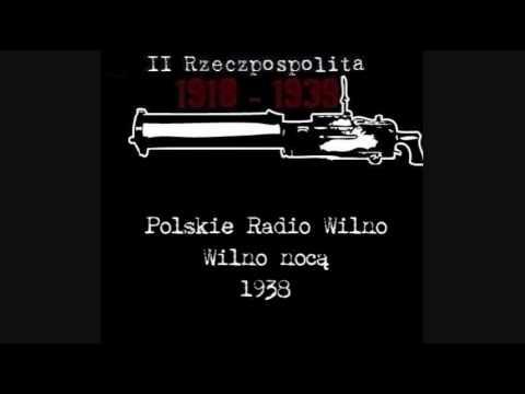 Wilno nocą - Polskie Radio Wilno - 1938