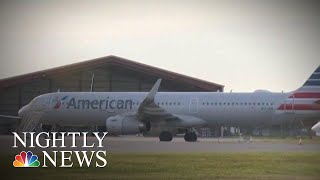 Suspect In Attempted Plane Theft 'Intended To Harm Himself,' FBI Says | NBC Nightly News