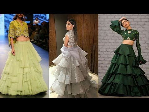 Latest & Stylish Frills Designer Dresses Design Collection For Girls 2018 || Best Dresses Design