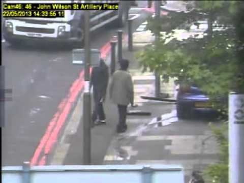 Footage of Lee Rigby's killer the moment he is shot by police Disturbing Scenes