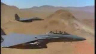Fighter jet music video