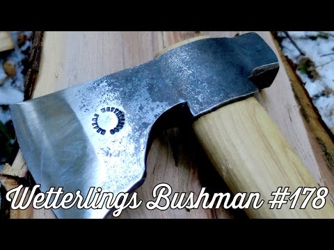 Review of the Les Stroud Survivorman Bushman Axe - #178 by Wetterlings