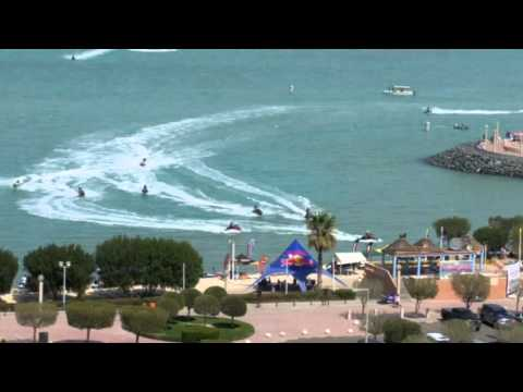 Jet ski racing in Kuwait