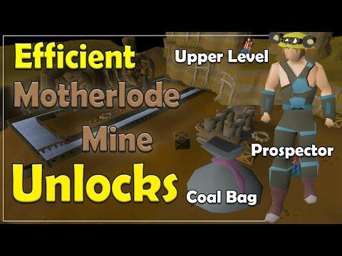Motherlode Mine Efficient Unlock Order [Old School Runescape]