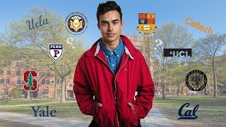 College Decision Reaction (IVY LEAGUE/UCs/STANFORD/CALTECH + MORE)