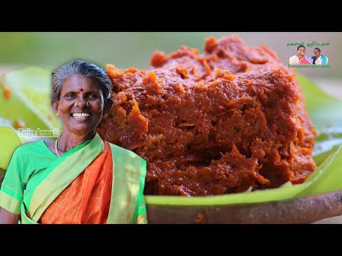 திருநெல்வேலி ஸ்பெஷல் மிளகாய் வத்தல் புளி துவையல் / Puli Thuvaiyal in VKS Traditional Sarees