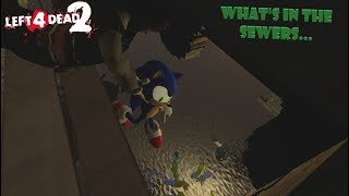 Left 4 dead 2 - What's in the Sewer...(Funny Moments!)