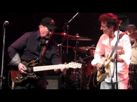 Luca Olivieri band + James Burton - live Fillmore - 2012 - 2/20