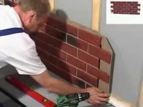Fassadenverkleidung klinkerfassaden youtube for Verblender kunststoff steinoptik