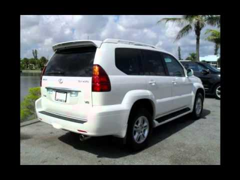 Used Cars West Palm Beach >> CLEAN 2005 Lexus GX470 - Pearl White SUV For Sale - YouTube