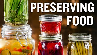 Useful Tips and Examples of Food Preservation