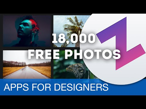 Browse 18,000 FREE photos using Zoommy • Apps for Designers