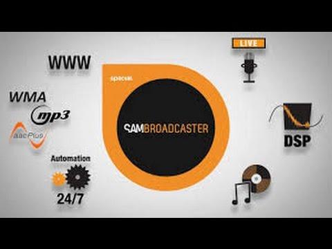 como fazer um piloto so SAM Broadcaster