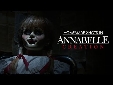 Homemade Shots in Annabelle Creation