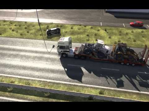Concept #03 - Autostop car accident 2 - Euro Truck Simulator 2