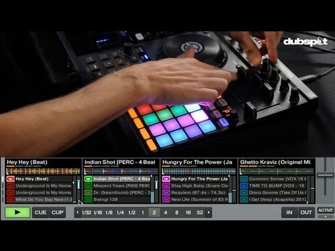 NI's Kontrol F1 + Traktor Pro 2.5 Update -- Tutorial + Overview w/ DJ Endo