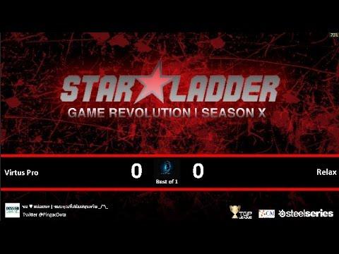Dota2 - Virtus Pro vs Relax [SLTV-X] Caster Pingac