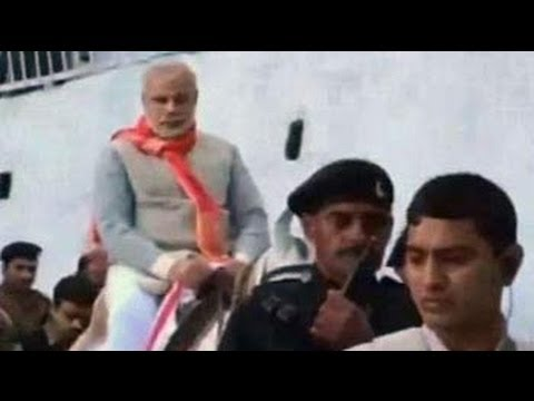 Narendra Modi visits Vaishno Devi shrine ahead of rally in Jammu and Kashmir