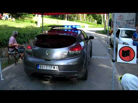 4.Beogradski Rally avala  Megane rs sport sound.