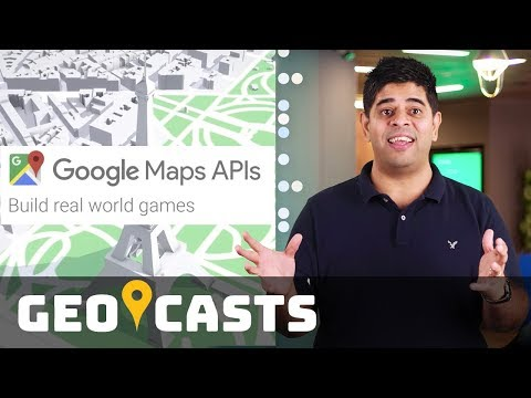 Build real-world games with Google Maps APIs