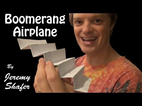 Super Boomerang Airplane video