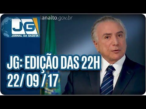 Jornal da Gazeta - Edição das 10 - 22/09/2017