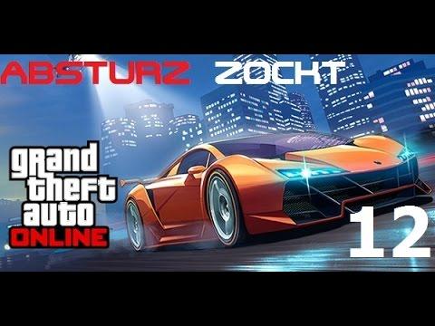 Absturz Zockt GTA Online - #12 - Robs Ratgeber / Let´s Play GTA Online