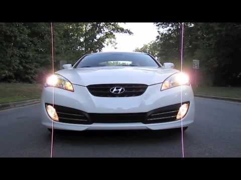 Hyundai Genesis Coupe 3.8 Before and After Review of the Stillen True Dual Exhaust and AEM CAI