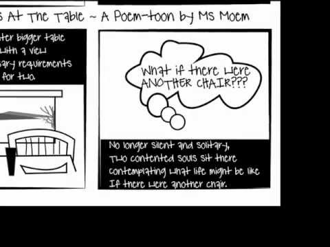 Two Places At The Table | Poem Cartoon | Ms Moem video