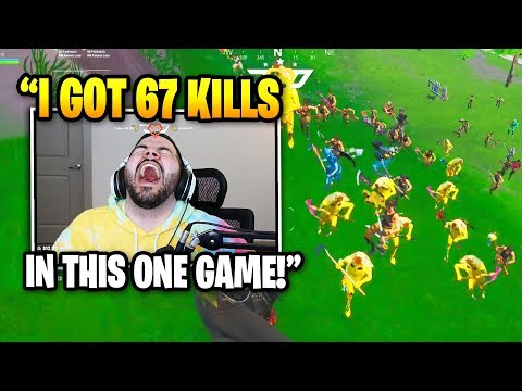 Courage Gets 67 KILLS At Pleasant Park And Then THIS HAPPENS | Fortnite Daily Funny Moments Ep.354