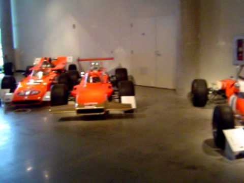 Lotus car collection at the Barber Vintage Motorsports Museum