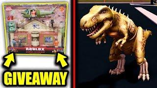 Jailbreak DINOSAUR TOY CODE For FREE! (Jailbreak Dinosaur Toy Code Giveaway) | Roblox Jailbreak