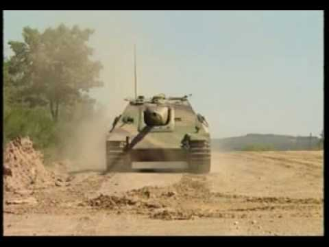 Jagdpanther WTS moving on training groud