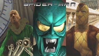 SPIDER MAN (2002) All Boss Fights